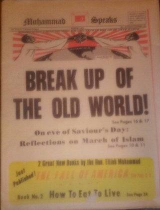 Vintage Muhammad Speaks Newspaper March 2, 1973
