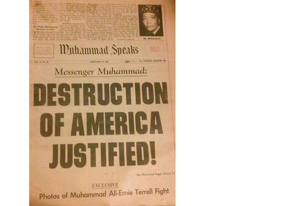 Vintage Muhammad Speaks November 20, 1970