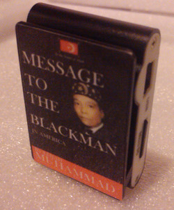 Message To The Blackman MP3 Player
