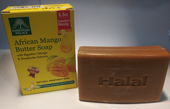 Halal African Mango Butter Soap