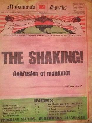 Vintage Muhammad Speaks August 13, 1971