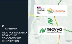 Neovya et le Cerema annoncent la signature d'une convention de coopération