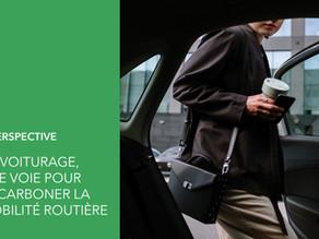 Covoiturage, une voie pour décarboner la mobilité routière dans les villes intelligentes