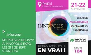Venez rencontrer Neovya les 21 & 22 Sept. lors de la première édition du salon INNOPOLIS EXPO