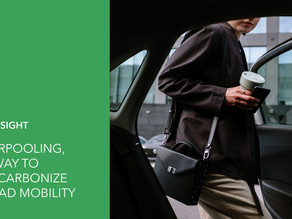 Carpooling, a way to decarbonize road mobility in smart cities & metropolitan areas!