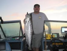 Lake Michigan Salmon