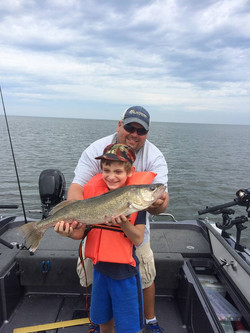 Wall Mount Walleye-Lake Winnebago