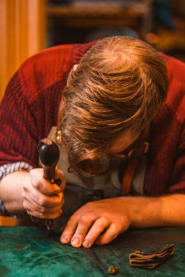 Mackenzie Leather's Workshop