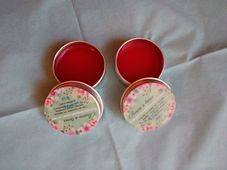 baume à lèvre naturel fait maison