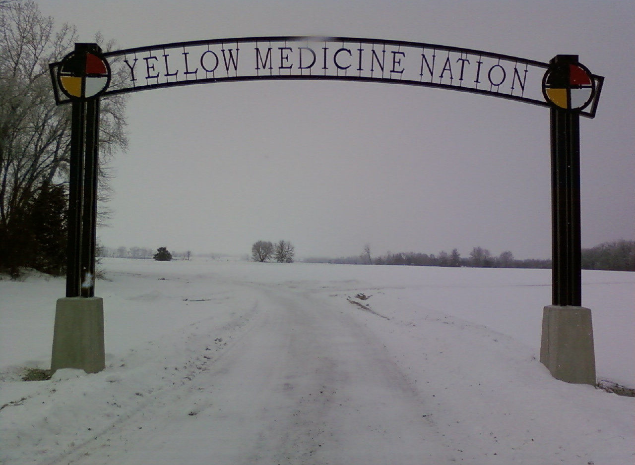 Yellow Medicine Nation Signage