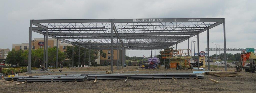 Sioux Falls Retail Center Structure