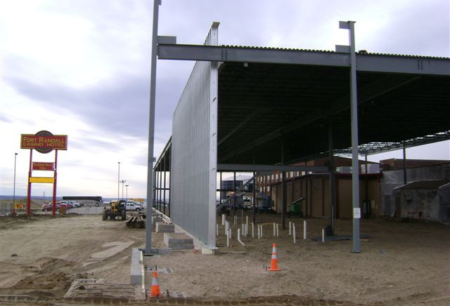 Fort Randall Casino Structure
