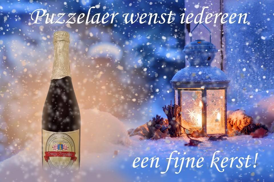 Kerstwens Puzzelaer ambachtelijke bierbrouwer