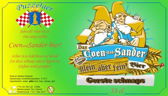Live op 538: Coen&Sander-bier
