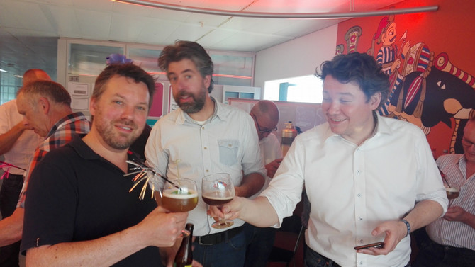 Bierproeverij = uitstekende teambuilder @Interpolis