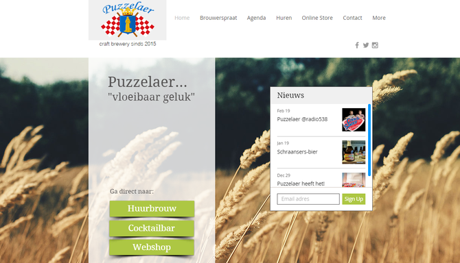 Website + webshop live!