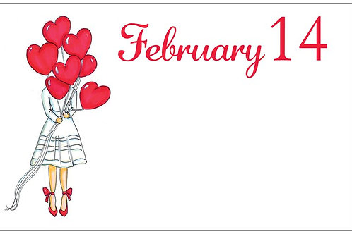 February 14 Red