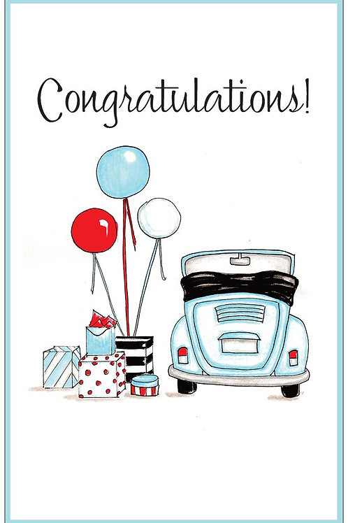 Love Bug New Driver Greeting Card