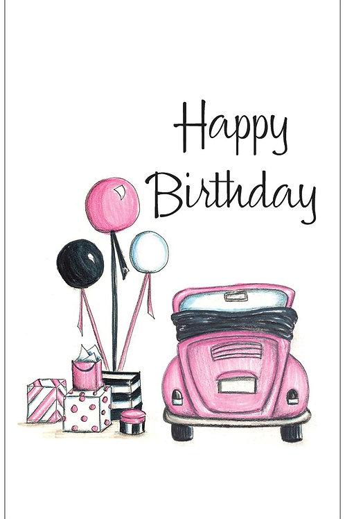 Love Bug Birthday Card