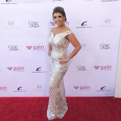 Allie Nicole celebrity red carpet