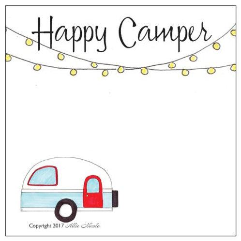 Happy Camper - Sticky Notes