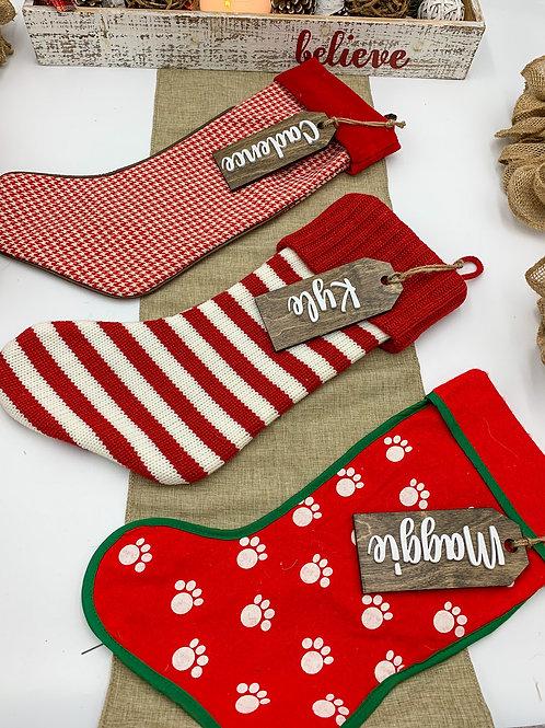 Christmas Stocking Tags
