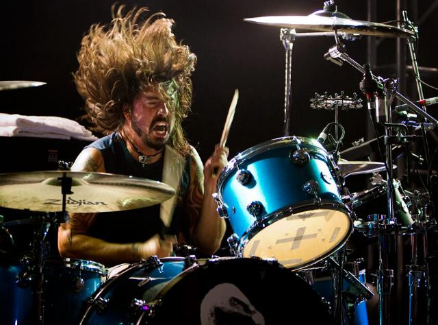 Dave Grohl drums bateria