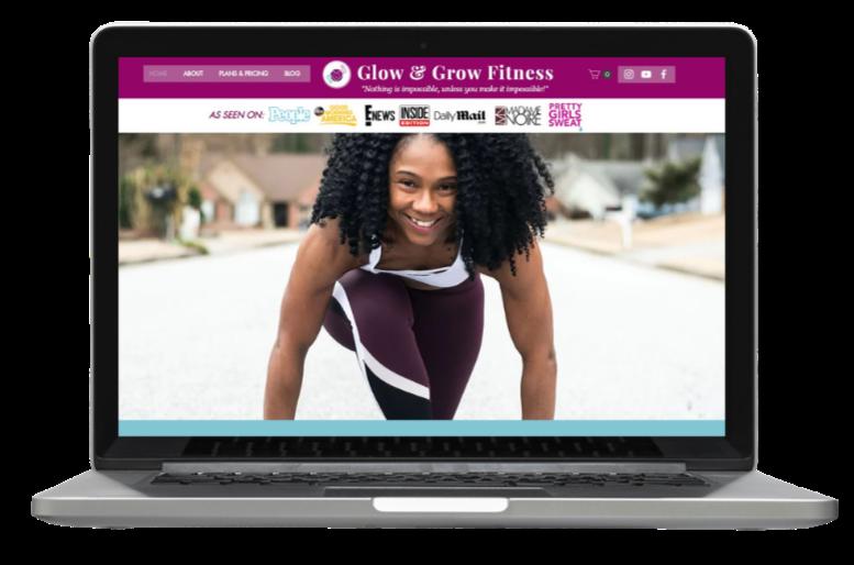 Fitness Brand: Desktop