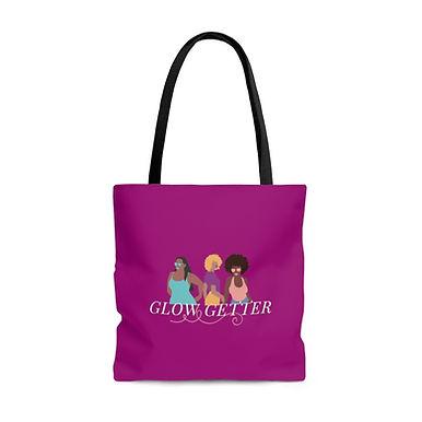 GLOW GETTER Tote Bag (Magenta)