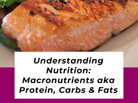 Understanding Nutrition: What Are Macros & Why I Chose a Low Carb Diet to Lose Weight
