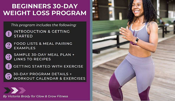 30-Day Beginner's Weight Loss Training Guide