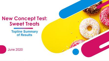 Sweet Treats Title Slide