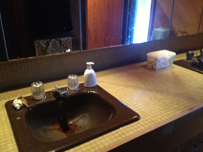 Before and After: Girl's Bathroom