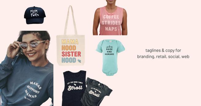 retail copy & taglines