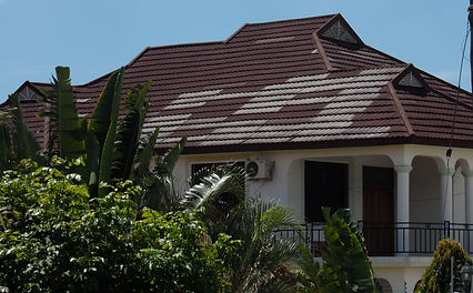 poor roofing, bad roofing, fake stone coated roofing Uganda,