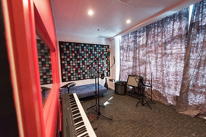 Tone Labs Music Studio A, studio, music, keyboard, acoustics, amps, vocal, mic, microphone, singing lessons, singing classes, recording lessons, recording classes, recording studio, recording room, record, music recordng, acoustic treatment, studio setup, recording setup, vocal lessons, vocal classes
