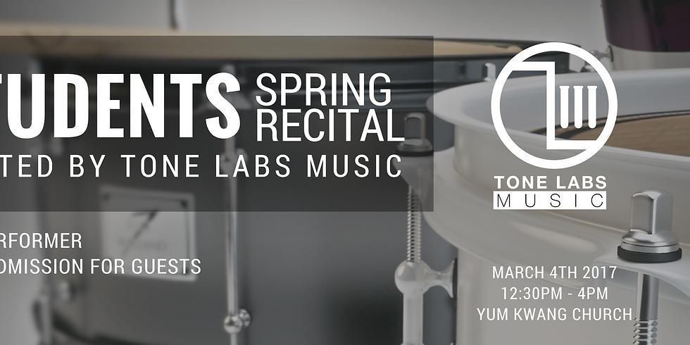 Tone Labs Music Annual Recital 2019 RSVP