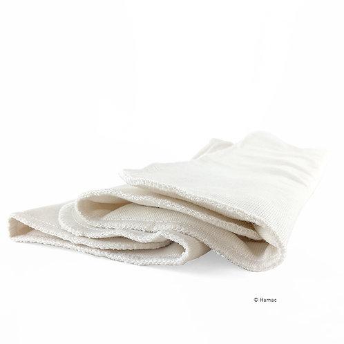 2x absorvente Reutilizável 100% Algodão Biológico