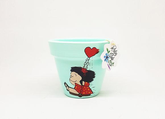 Mafalda en columpio