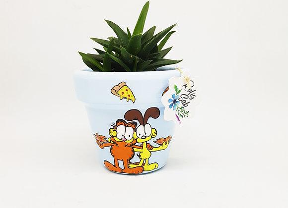 Garfield y Odie