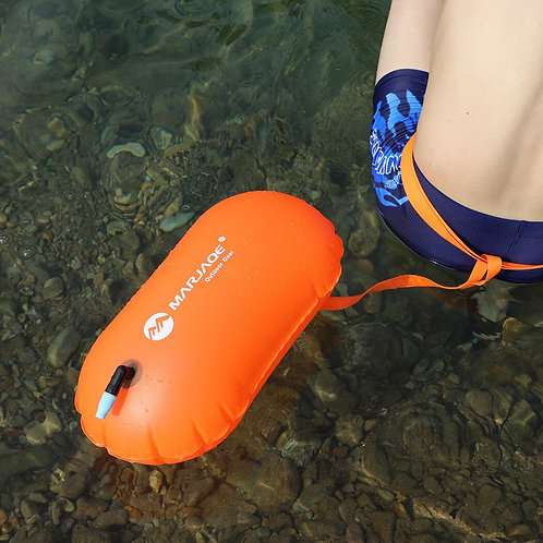 Inflatable Swim Buoy Open Water Sport Lifeguard Anti Drown Safety Kayaking