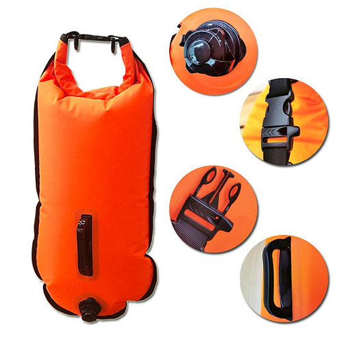 Outdoor Swimming Buoy Multifunction Swimming Drift Bag
