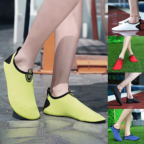 Women Men Swimming Shoes Breathable Soft Flat Sole Sneaker