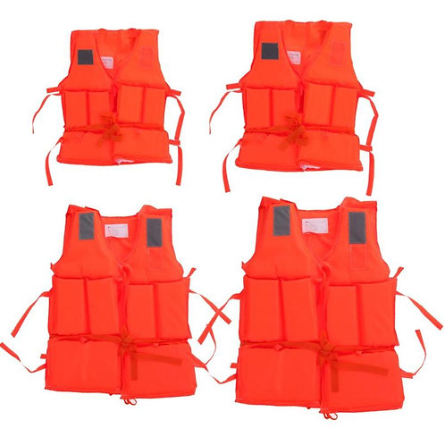 Life Jacket Vest for Adult or Kid for Swimming and Boating
