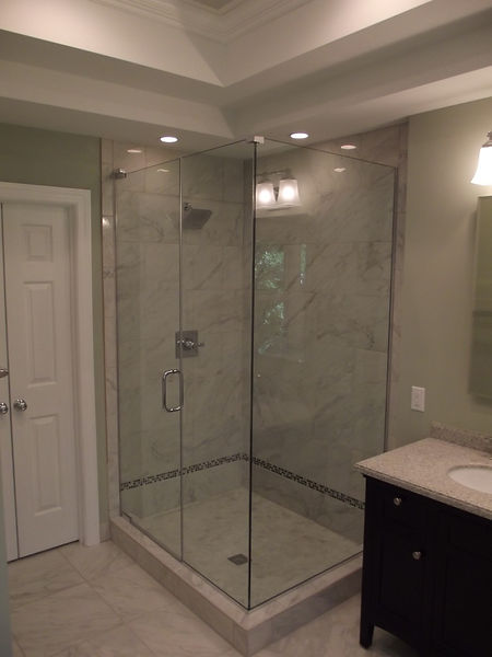 North-Raleigh-Garner-NC-Bathroom-Remodeling-Framless-Tile-Shower-Enclosure-JW-Fine-Remodeling