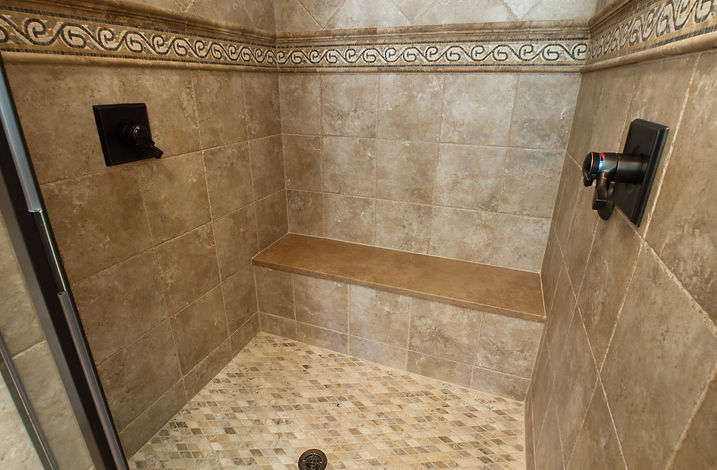 Custom Tiled Shower JW Fine Remodeling