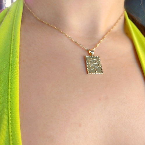 """""""Golden Dragon"""" Pendant Necklace"""