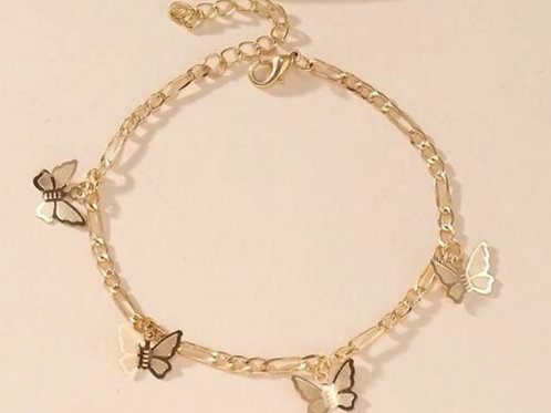 """""""Drip Of Buttahfly"""" Anklet Gold Only"""