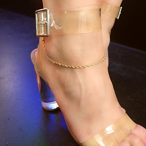 """""""Don't Get It Twisted"""" Anklet"""