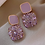 "Thumbnail: ""Lilac Shinin'"" Small Drop Earrings"